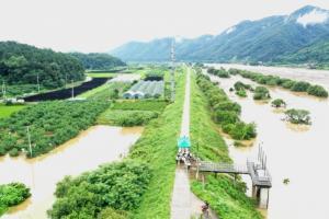 [영상 / 포토] 이시종 도지사, 용담댐 방류 피해현장 방문